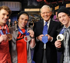 Gus with David Letterman